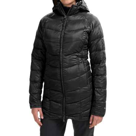 Outdoor Research Sonata Down Hooded Parka - 650 Fill Power (For Women) in Black/Rio - Closeouts