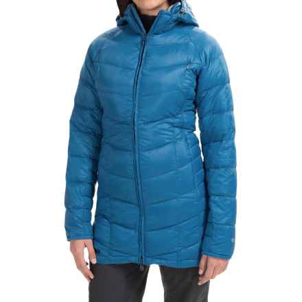 Outdoor Research Sonata Down Hooded Parka - 650 Fill Power (For Women) in Cornflower - Closeouts