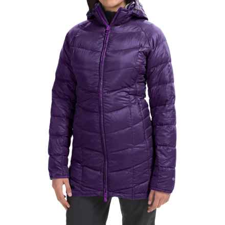 Outdoor Research Sonata Down Hooded Parka - 650 Fill Power (For Women) in Elderberry - Closeouts