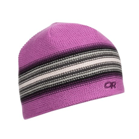 Outdoor Research Spitsbergen Beanie Hat - Windstopper® (For Little and Big Kids) in Crocus/Orchid