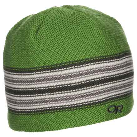 Outdoor Research Spitsbergen Beanie Hat - Windstopper® (For Little and Big Kids) in Leaf/Evergreen - Closeouts