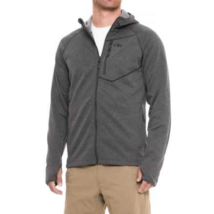 Outdoor Research Starfire Hoodie - Full Zip (For Men) in Charcoal - Closeouts