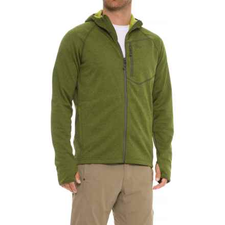 Outdoor Research Starfire Hoodie - Full Zip (For Men) in Kale - Closeouts