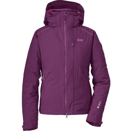 Outdoor Research Stormbound Down Jacket - Waterproof, 650 Fill Power (For Women) in Orchid/Crocus