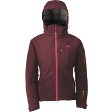 Outdoor Research Stormbound Down Jacket - Waterproof, 650 Fill Power (For Women) in Zin - Closeouts