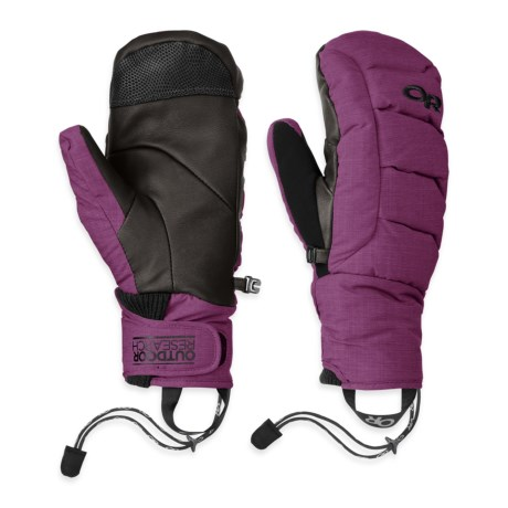 Outdoor Research Stormbound Down Mittens Waterproof, 800 Fill Power (For Men)