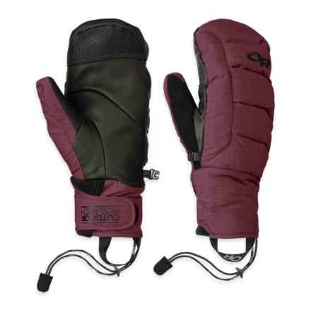 Outdoor Research Stormbound Down Mittens - Waterproof, 800 Fill Power (For Men) in Pinot - Closeouts