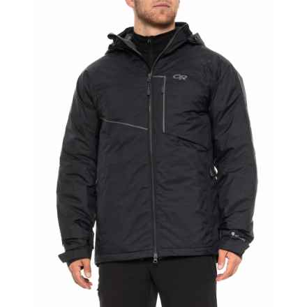 Outdoor Research Stormbound Down Ski Jacket - Waterproof (For Men) in Black - Closeouts