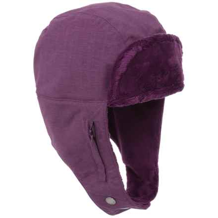 Outdoor Research Stormbound Trapper Hat - Waterproof (For Women) in Orchid - Closeouts