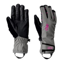 Outdoor Research Stormsensor Gloves (For Women ) in Pewter/Desert Sunrise - Closeouts