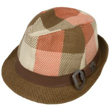 Outdoor Research Summer Odd Job Fedora Hat - Woven Paper (For Men and Women) in Straw - Closeouts