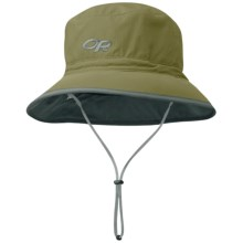Outdoor Research Sun Bucket Hat - UPF 50+ (For Men and Women) in Fatigue/Dark Grey - Closeouts