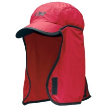 Outdoor Research Sun Runner Cap - UPF 30, Neck Gaiter (For Kids) in Azalea/Dark Grey - Closeouts