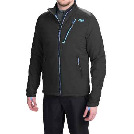 Outdoor Research Superlayer PrimaLoft® Silver Jacket - Insulated (For Men) in Black/Hydro - Closeouts