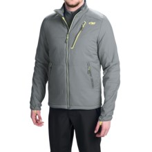 Outdoor Research Superlayer PrimaLoft® Silver Jacket - Insulated (For Men) in Pewter/Lemongrass - Closeouts
