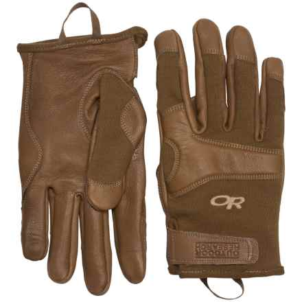 Outdoor Research Suppressor TAA Gloves - Flame Resistant in Coyote - Closeouts