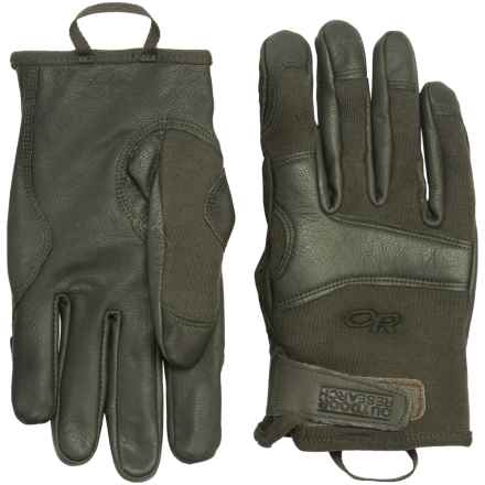 Outdoor Research Suppressor TAA Gloves - Flame Resistant in Sage Green - Closeouts