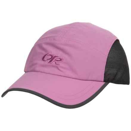 Outdoor Research Swift Cap - CoolMax® (For Men and Women) in Crocus/Dark Grey - Closeouts