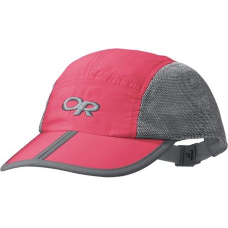 Outdoor Research Swift Hat (For Kids) in Azalea/Light Grey