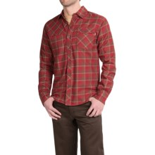 Outdoor Research Tangent Shirt - Long Sleeve (For Men) in Redwood/Diablo - Closeouts