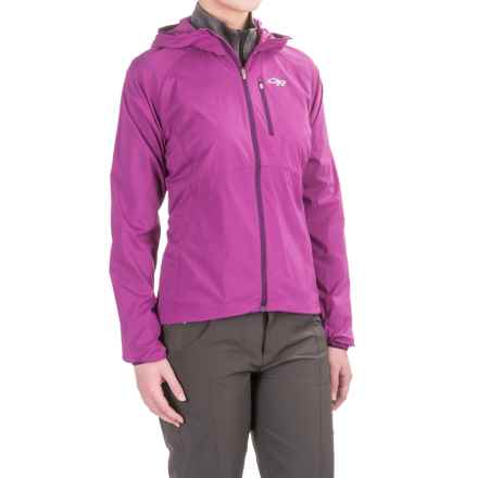 Outdoor Research Tantrum Hooded Jacket (For Women) in Wisteria - Closeouts