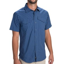 Outdoor Research Termini Shirt - Short Sleeve (For Men) in Abyss - Closeouts