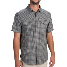 Outdoor Research Termini Shirt - Short Sleeve (For Men) in Pewter - Closeouts