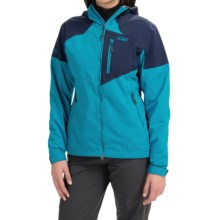 Outdoor Research Trailbreaker Jacket (For Women) in Alpine Lake/Night - Closeouts