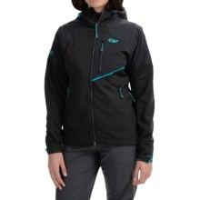 Outdoor Research Trailbreaker Jacket (For Women) in Black/Rio - Closeouts
