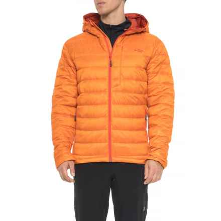 Outdoor Research Transcendent Down Hoodie Jacket - 650 Fill Power (For Men) in Bengal/Diablo - Closeouts