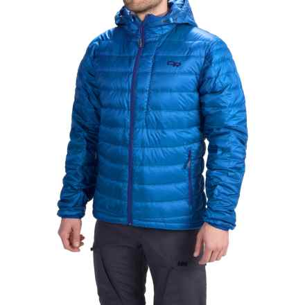 Outdoor Research Transcendent Down Hoodie Jacket - 650 Fill Power (For Men) in Glacier - Closeouts