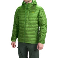 Outdoor Research Transcendent Down Hoodie Jacket - 650 Fill Power (For Men) in Leaf