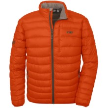 Outdoor Research Transcendent Down Jacket - 650+ Fill Power (For Men) in Diablo/Earth - Closeouts