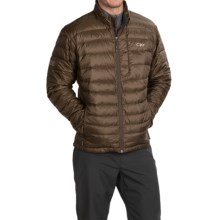 Outdoor Research Transcendent Down Jacket - 650+ Fill Power (For Men) in Earth/Cafe - Closeouts