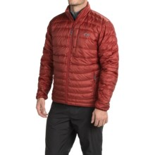 Outdoor Research Transcendent Down Jacket - 650+ Fill Power (For Men) in Redwood/Charcoal - Closeouts