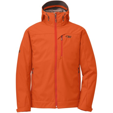 Outdoor Research Transfer Jacket - Soft Shell (For Men) in Diablo/Earth