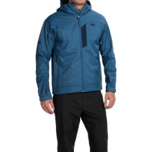 Outdoor Research Transfer Jacket - Soft Shell (For Men) in Dusk - Closeouts
