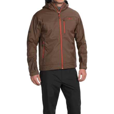 Outdoor Research Transfer Jacket - Soft Shell (For Men) in Earth/Diablo - Closeouts