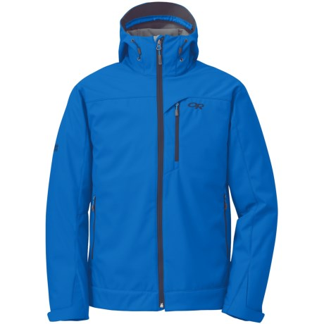 Outdoor Research Transfer Jacket - Soft Shell (For Men) in Glacier