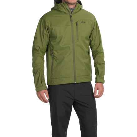 Outdoor Research Transfer Jacket - Soft Shell (For Men) in Kale - Closeouts