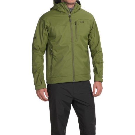 Outdoor Research Transfer Jacket - Soft Shell (For Men) in Kale