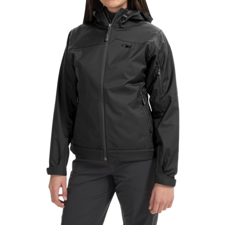 Outdoor Research Transfer Jacket - Soft Shell (For Women) in Black