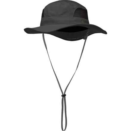 Outdoor Research Transit Sun Hat - UPF 50+ (For Men and Women) in Charcoal - Closeouts
