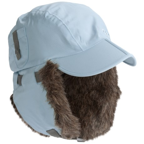 Outdoor Research Trapper Hat - Faux-Fur Lined (For Women) in Black