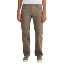 Outdoor Research Treadway Convertible Pants - UPF 50+, Zip-Off Legs (For Women) in Mushroom - Closeouts
