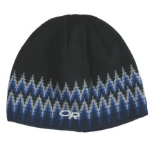 Outdoor Research Treeline Beanie Hat - Windstopper® (For Kids) in Black/True Blue - Closeouts