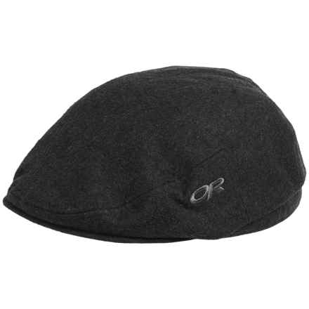 Outdoor Research Turnpoint Driver Cap - Wool Blend (For Men) in Charcoal - Closeouts