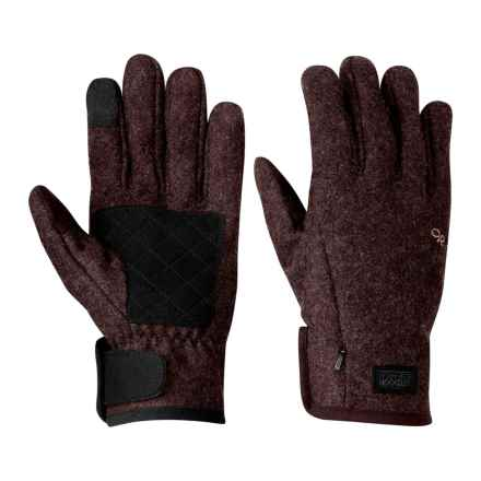 Outdoor Research Turnpoint Sensor Gloves - Touch-Screen Compatible (For Men) in Earth - Closeouts