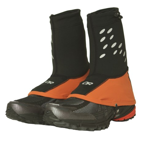 Outdoor Research Ultra Trail Gaiters (For Men and Women) in Ember/Black