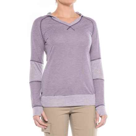 Outdoor Research Umbra Hooded Shirt - Long Sleeve (For Women) in Fig - Closeouts